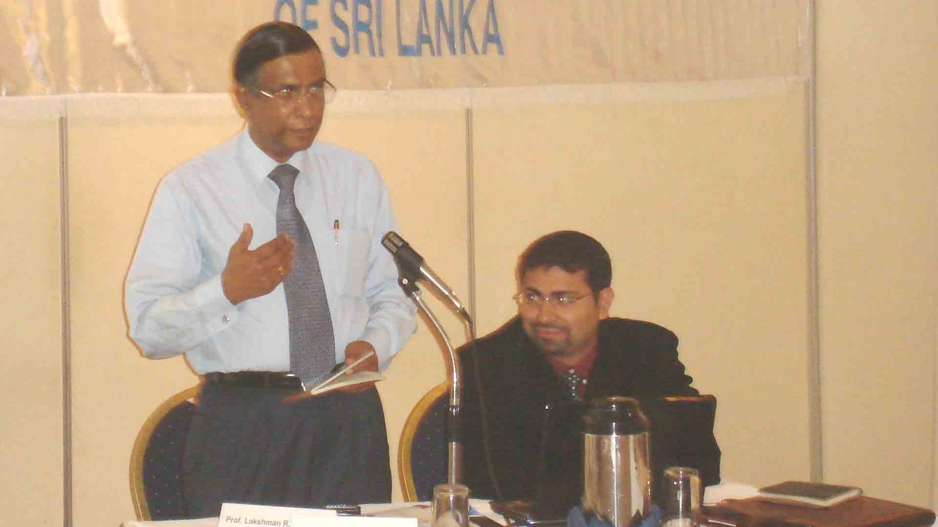 Conducting a workshop in Colombo,Sri Lanka